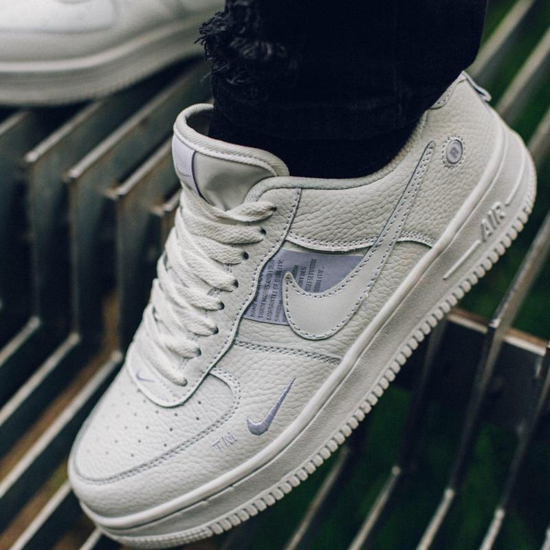 Nike air force 1 мужские стильные кроссовки - Фото 3