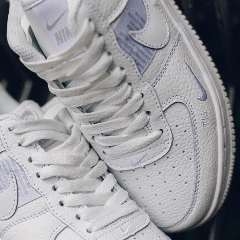 Nike air force 1 мужские стильные кроссовки - Фото 7