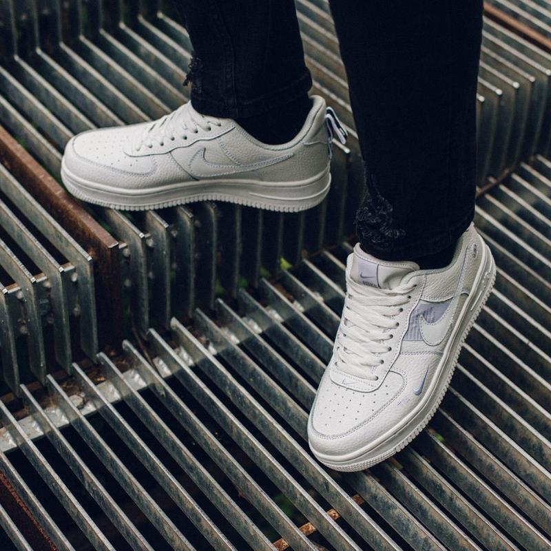 Nike air force 1 мужские стильные кроссовки - Фото 9