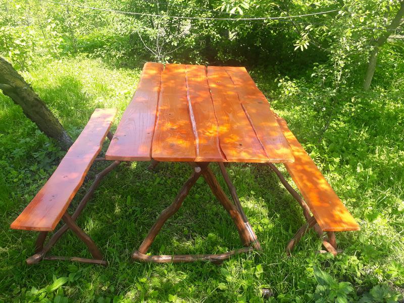 Деревяний стіл своїми руками