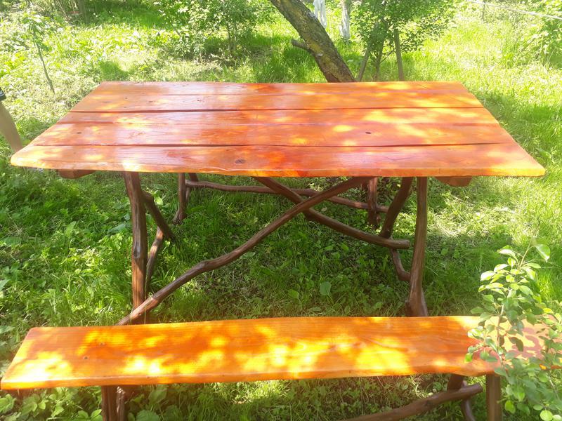 Деревяний стіл своїми руками - Фото 2