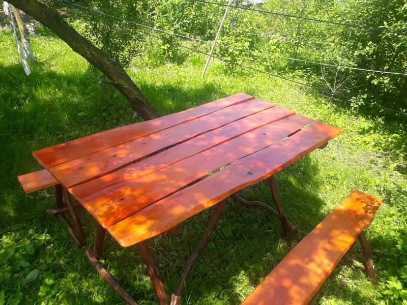 Деревяний стіл своїми руками - Фото 3