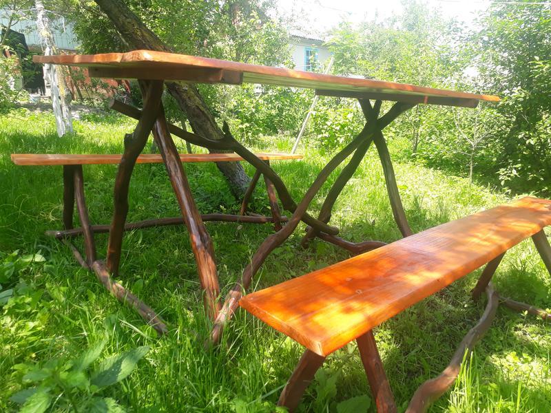 Деревяний стіл своїми руками - Фото 4
