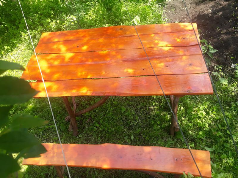 Деревяний стіл своїми руками - Фото 5