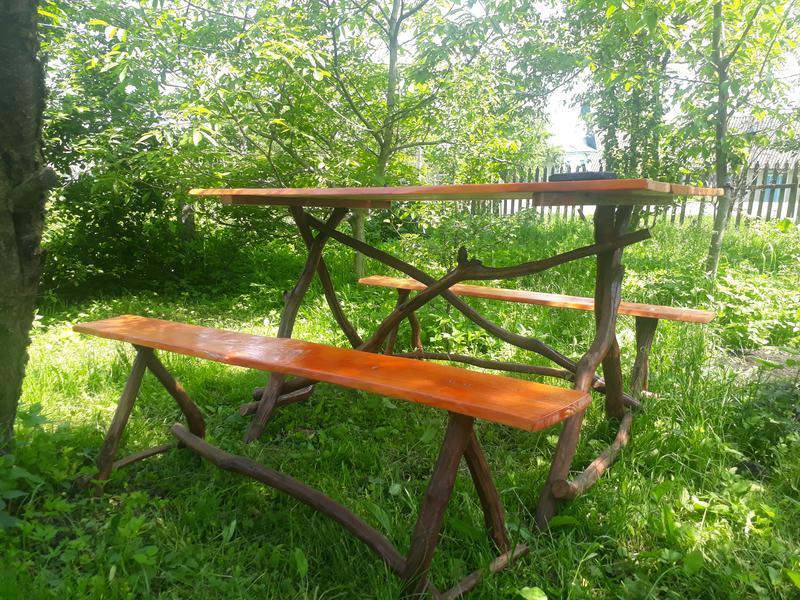 Деревяний стіл своїми руками - Фото 6