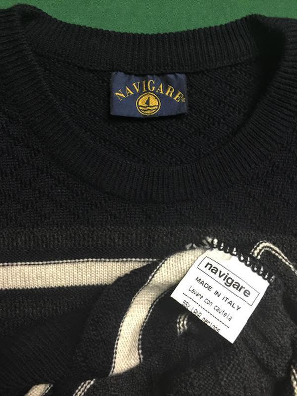 Итальянский свитер navigare 60 р. - Фото 5