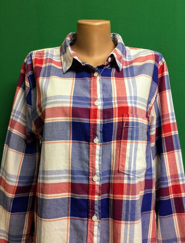 Демисезонная рубашка h&m - Фото 2