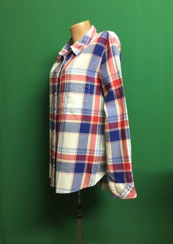 Демисезонная рубашка h&m - Фото 3