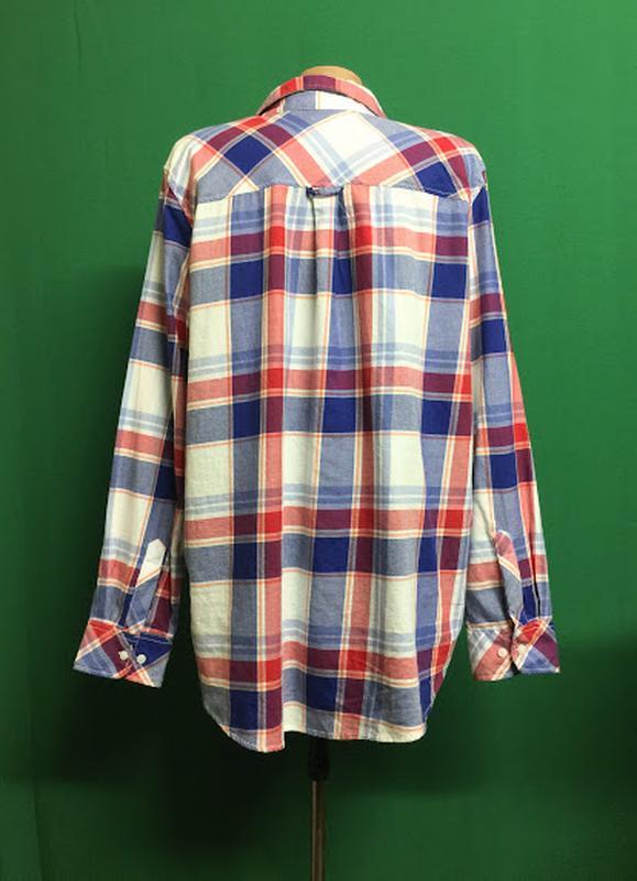 Демисезонная рубашка h&m - Фото 4
