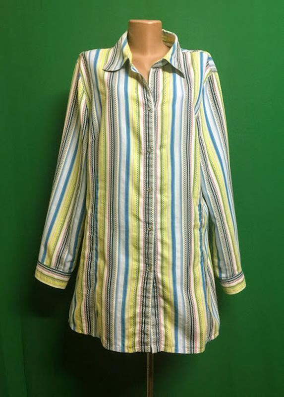 Длинная рубашка-туника ulla popken