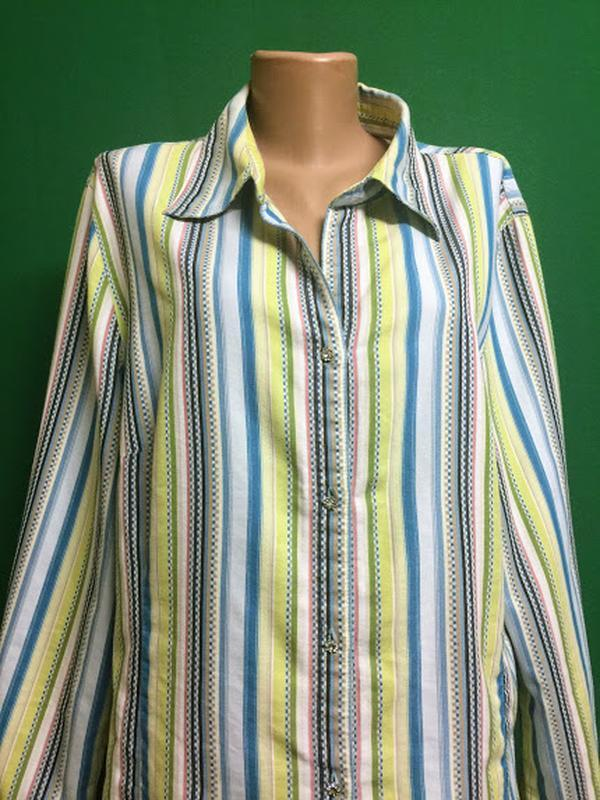 Длинная рубашка-туника ulla popken - Фото 3