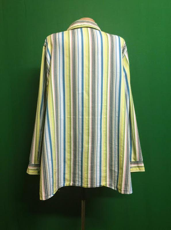 Длинная рубашка-туника ulla popken - Фото 4