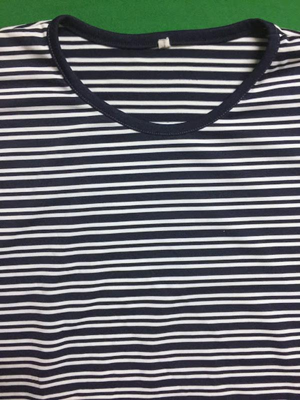 Полосатая туника-футболка - Фото 5