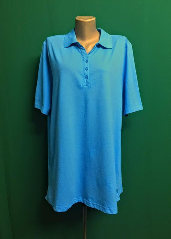 Длинная футболка-поло cecilia classic