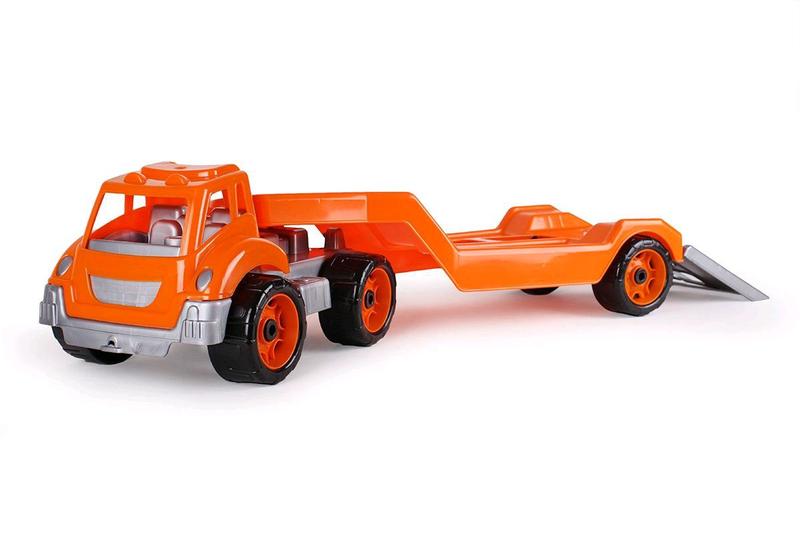 Машинка гигант Автовоз оранжевый