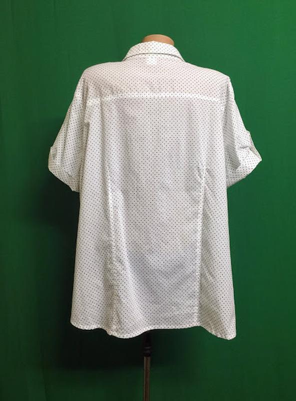 Длинная тонкая хлопковая рубашка ambria - Фото 4