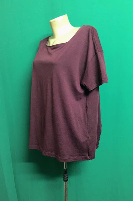 Туника-футболка с расклешенной спинкой feza - Фото 2