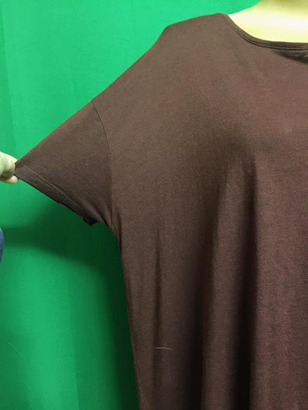 Туника-футболка с расклешенной спинкой feza - Фото 3