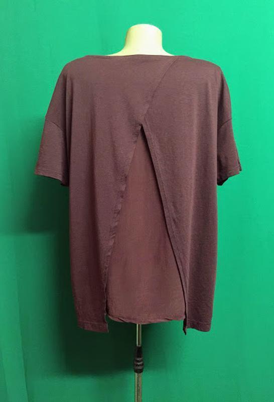Туника-футболка с расклешенной спинкой feza - Фото 4