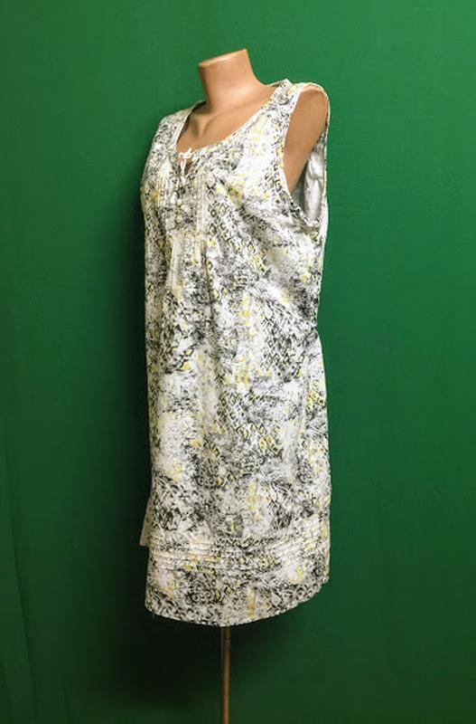 Летнее хлопковое платье sure - Фото 3