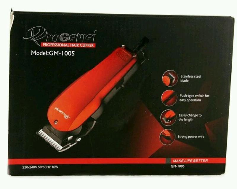 Профессиональная Машинка Для Стрижки Волос - Фото 8