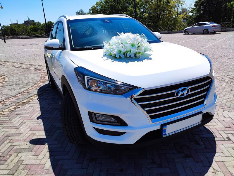 Аренда авто на свадьбу, прокат с водителем Hyundai Tucson 2020