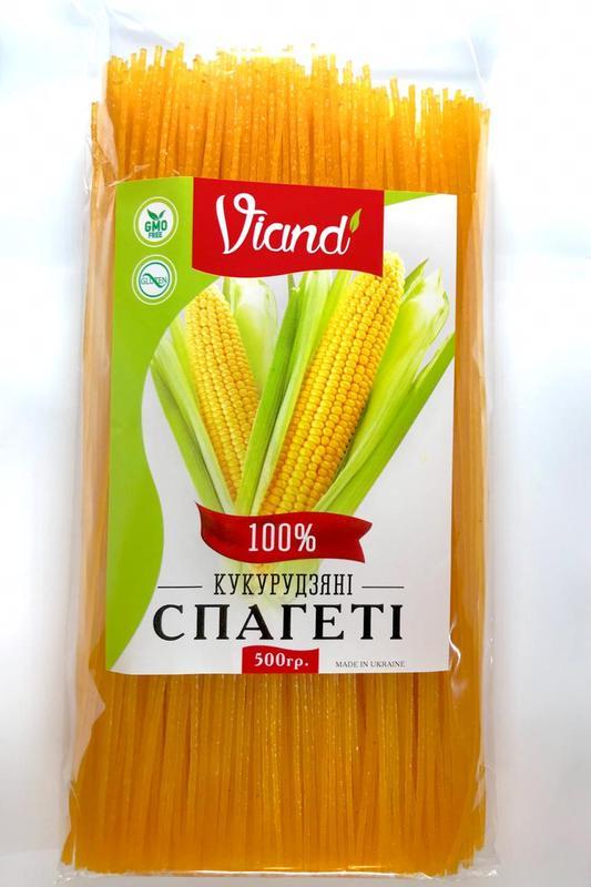 Кукурузные безглютеновые макароны паста спагетти 500грм