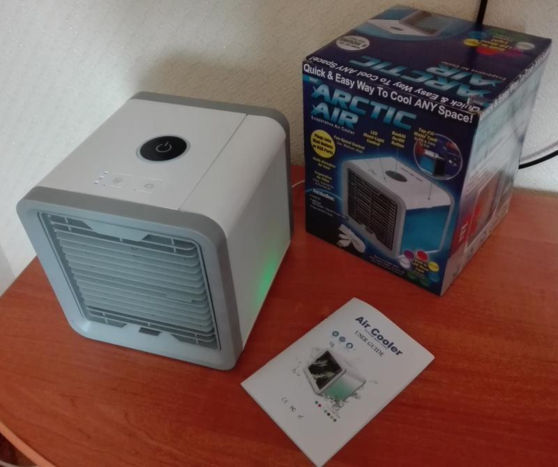 Переносной кондиционер arctic air cooler oхладитель воздуха - Фото 3