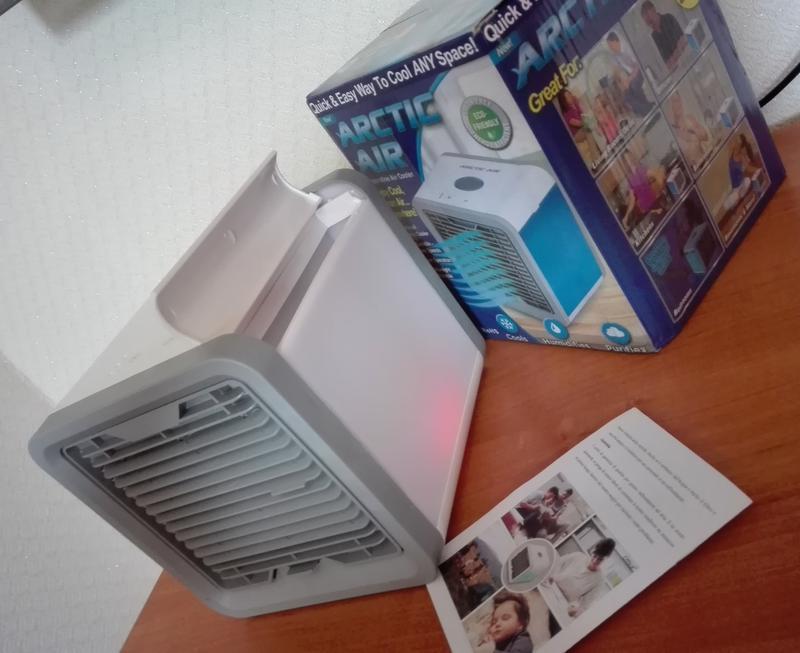 Переносной кондиционер arctic air cooler oхладитель воздуха - Фото 8
