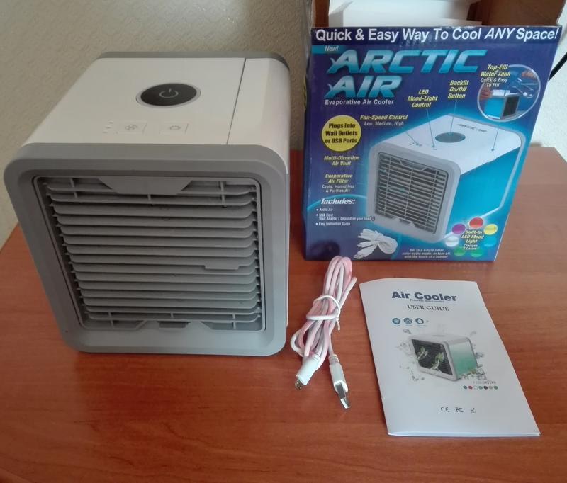 Переносной кондиционер arctic air cooler oхладитель воздуха - Фото 9