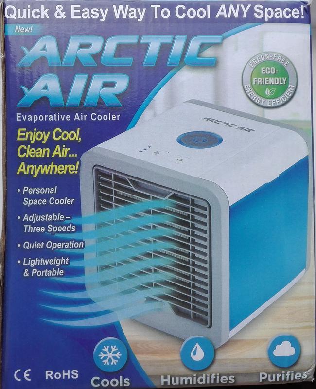 Переносной кондиционер arctic air cooler oхладитель воздуха - Фото 10