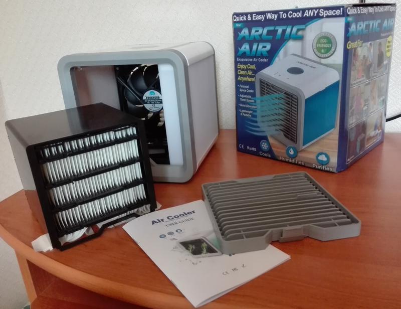 Переносной кондиционер arctic air cooler oхладитель воздуха - Фото 11