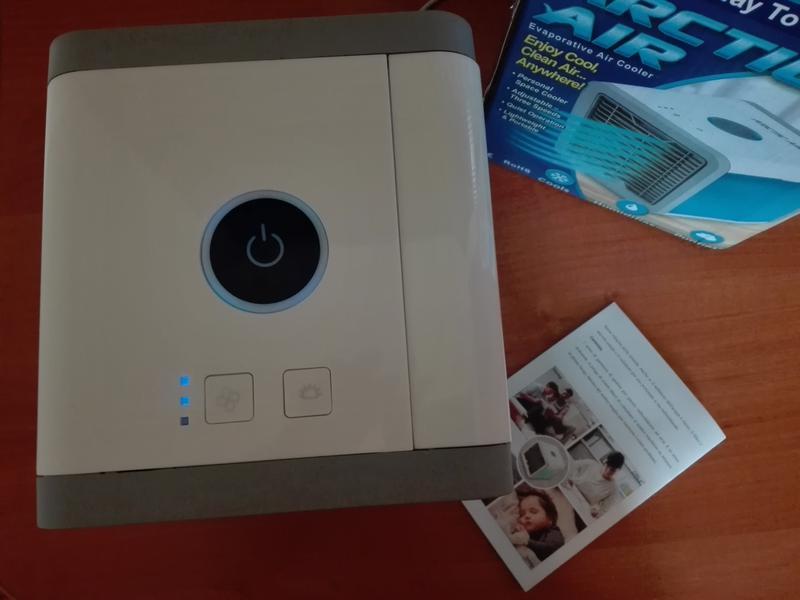 Переносной кондиционер arctic air cooler oхладитель воздуха - Фото 14