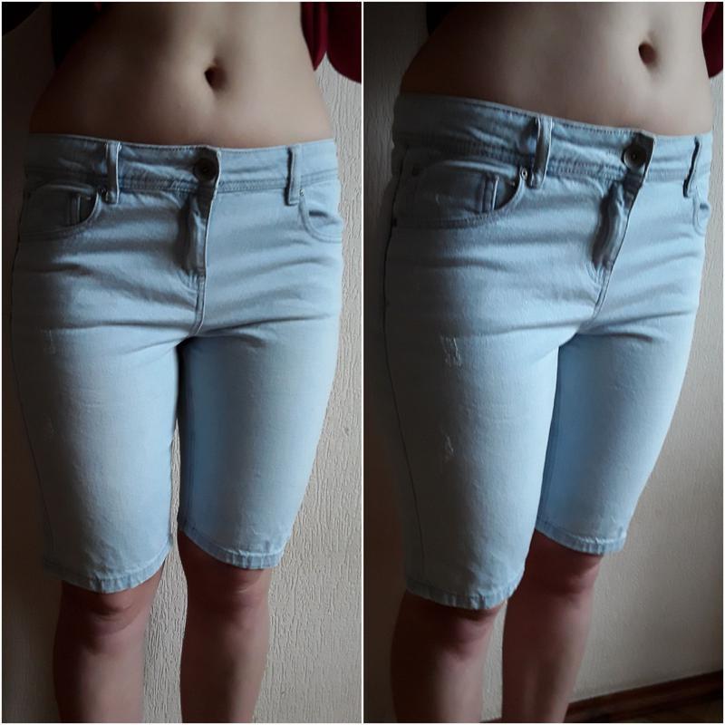 Джинсовые шорты с рубашкой