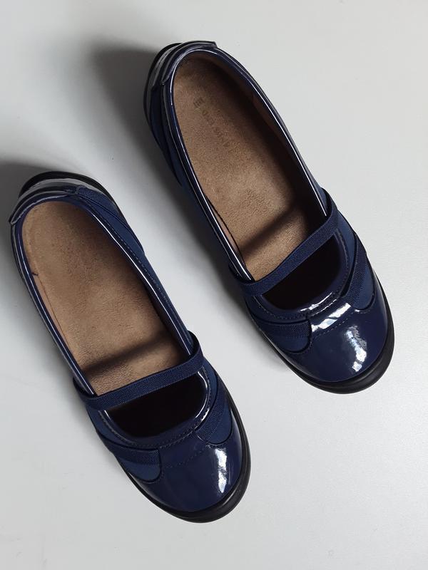 Туфли лак с замшей  37