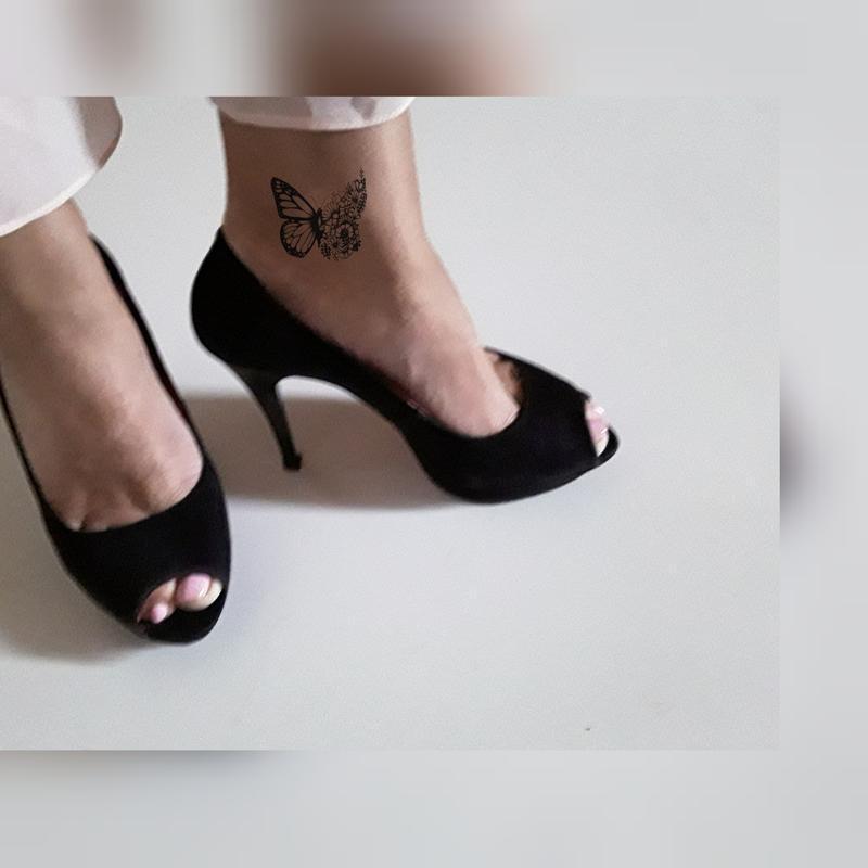 Итальянские замшевые туфли  на платформе