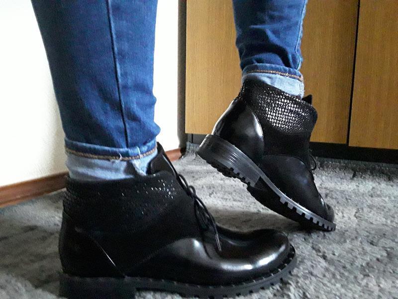 Ботинки мега удобные, натуральная кожа  39-40