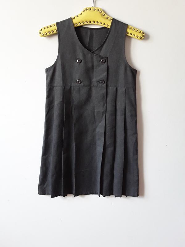 Школьное платье сарафан 11 лет