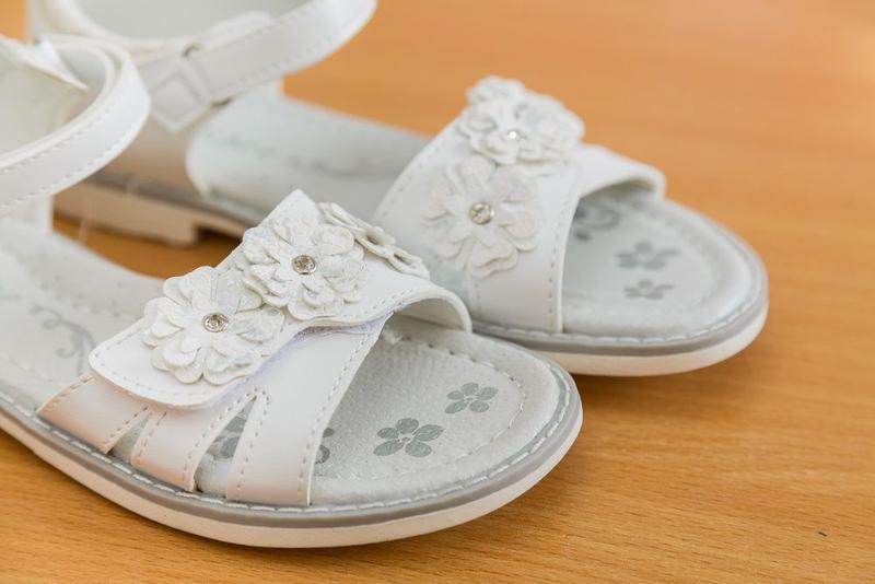 Босоножки р.31-36 белые, сандалии, сандали, босаножки, босонiжки - Фото 2