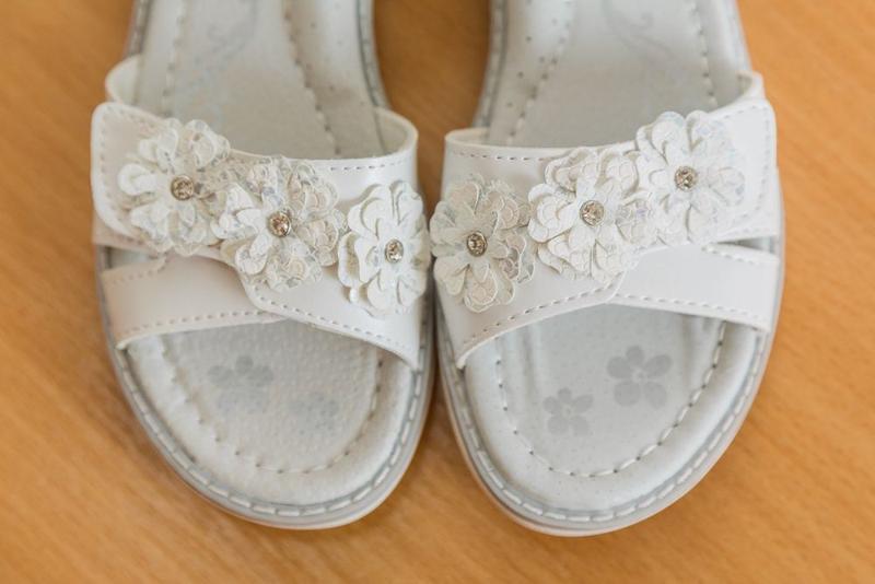 Босоножки р.31-36 белые, сандалии, сандали, босаножки, босонiжки - Фото 4