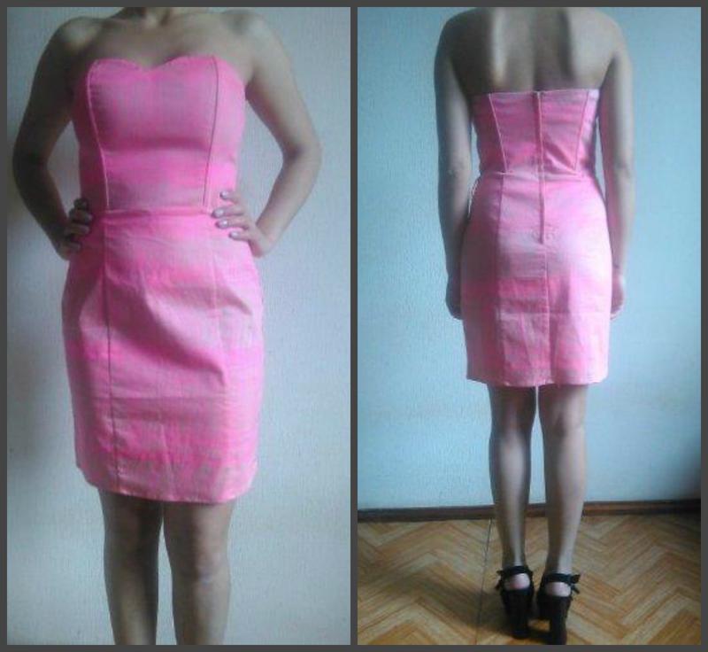 Платье -бюстье  - h & m