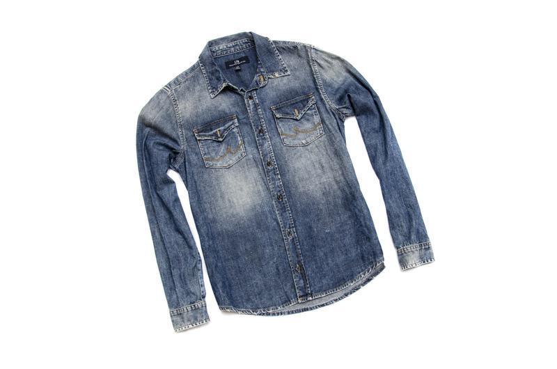 Рубашка джинсовая ltb. размер s