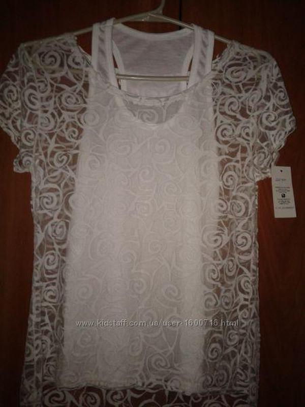 Блуза двойка
