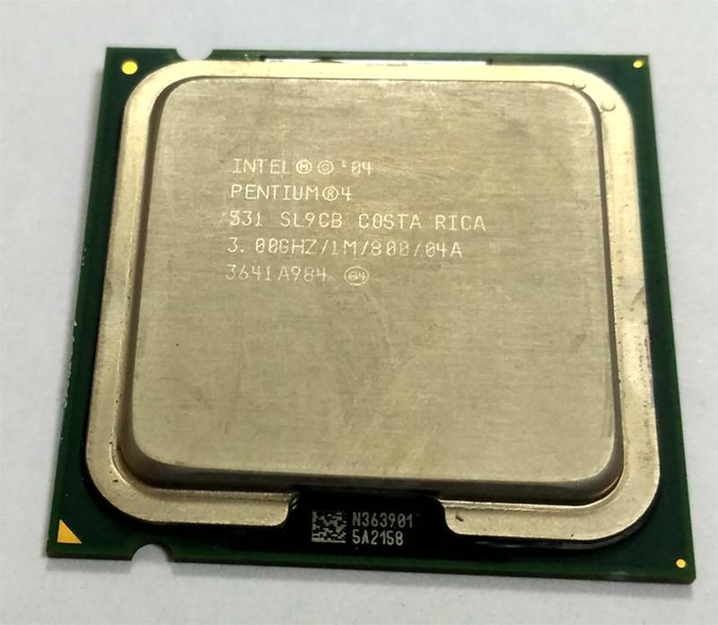 Процессор Intel Pentium 4 531 SL9CB 3,00 GHZ/1M/800 s775