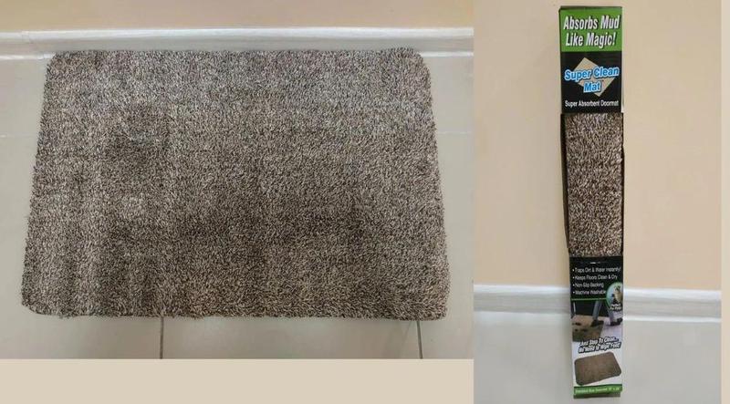 """Коврик Для Прихожей и ванной """"Ни Следа"""" (Clean Step Mat) Супер... - Фото 3"""