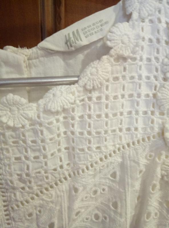 Платье нарядное летнее HM 10-12 лет - Фото 5