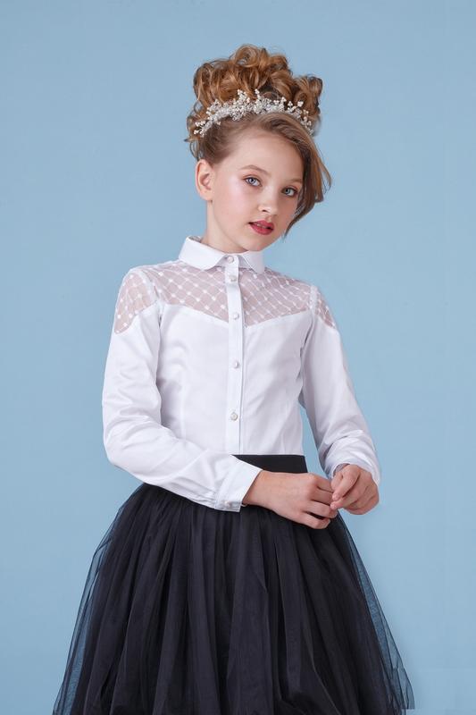 Блузка для девочки zironka рост 128 зиронька