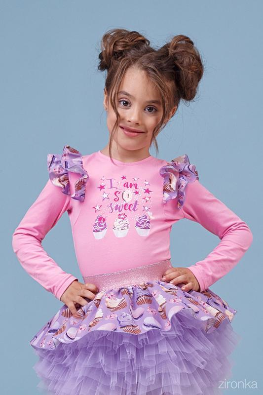 Джемпер для девочки zironka рост 98, 104,116, 122 зиронька