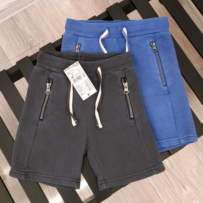 Хлопковые шорты для мальчика kiabi размер 3, 4 года
