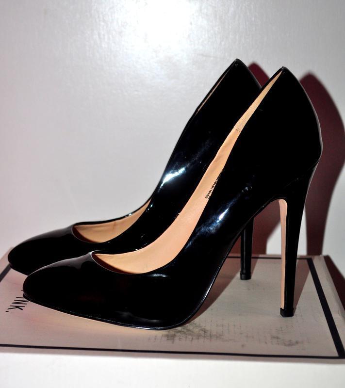 Стильные лаковые туфли lost ink из англии